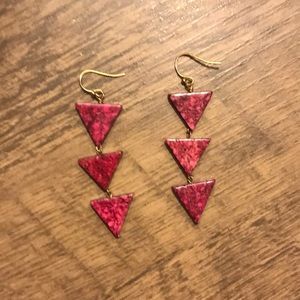 Anthropologie inspired Aztec earrings